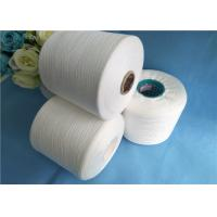 Wholesale Low Enlongation Raw White / Virgin 40s / 2 100% Spun Polyester Thread from china suppliers