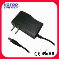 Wholesale High efficiency 12V AC DC Power Adapter 2 Flat Pin Plug for CCTV security from china suppliers
