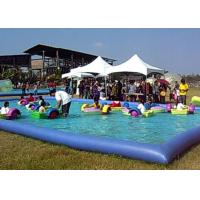 Wholesale Amusement Park Small Swimming Pools For Kids , Inflatable Swimming Pool For Family from china suppliers