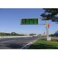 Wholesale Long Life Full Color Led Traffic Display , 16mm Led Traffic Signs 256 * 256mm from china suppliers