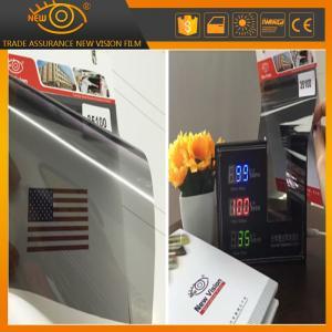 Buy cheap High heat rejection 100% black 35% vlt nano ceramic car window solar tint film from wholesalers