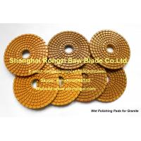 "Wholesale 4"" Wet use Diamond Polishing Pads for Granite from china suppliers"