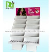 Wholesale Fashion Cosmetic Cardboard Floor Display Stand Upright Design from china suppliers