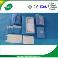 Wholesale Distributer price EO sterile surgical laparoscopy drape pack with CE/ISO13485 for hospital/clinic from china suppliers