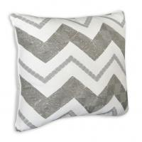 "Wholesale Cody Zig Zag Square Reversible Throw Pillow 16"" x16"" / Decorative Throw Pillows for Sofa from china suppliers"