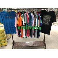 Professional Mens Used Clothing Mixed Size With Polyester / Cotton Material