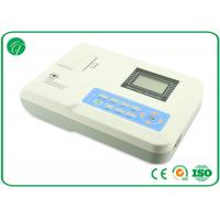 Wholesale High Resolution Portable ECG Machine One Channel With Rechargeable Battery , CE ISO from china suppliers