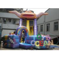 Wholesale Commercial Space Inflatable Slides , Kids Inflatable Water Slide Rentals from china suppliers