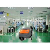 Wholesale Two 13 Inch Brush Dynamo Battery Operated Floor Scrubber , Electric Walk Behind Floor Cleaners from china suppliers