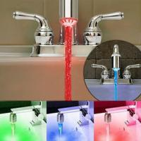 Wholesale 2014 hot sale Temp Sensitive 3 Color Change Water faucet LED Light Tap from china suppliers