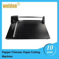 Wholesale 14'' manual rotary paper  trimmer / cutting machine for PVC fabric / paper from china suppliers