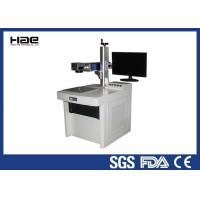 Wholesale 100 W Optical Fiber Laser Marking Machine For Stainless Steel Silver Metal from china suppliers