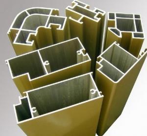 commercial Aluminum Door Extrusions profile for Casement Windows