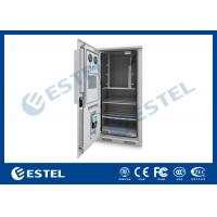 Wholesale Outdoor Power Cabinet , Outdoor Telecom Cabinet With Water Sensor / Door Sensor from china suppliers