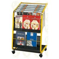 Wholesale Stainless Steel Information Newspaper Rack With Copper Plated , 650x400x900mm from china suppliers