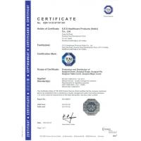 S.E.S HEALTHCARE PRODUCTS CO.,LTD Certifications