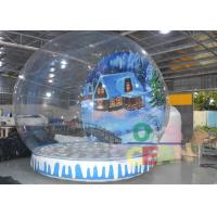 Wholesale Large Christmas inflatable Snow Globe Tent Outdoor Decorations For Advertising from china suppliers
