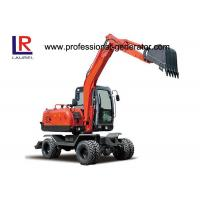 Wholesale Mini Digging Machine Vibrating Plate Compactor Long Reach 6.2 Tons For Farm from china suppliers