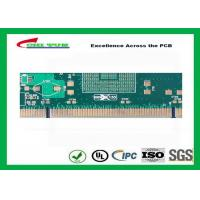 Buy cheap Green 10 Layer Hard Gold Printed Circuit Boards SMT PCB Assembly 0.25mm Holes from wholesalers