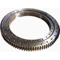 Wholesale Single Row Four Point Contact Ball Slewing Ring Bearings Without Gear For Axial Load from china suppliers