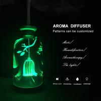 Quality Ultrasonic aroma diffuser, mini and cute, with 120ml tank essential oil aromatherapy for sale