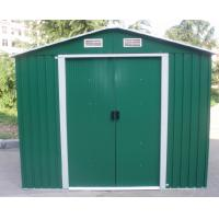 Wholesale Green Apex Metal Garden Shed / Tools Storage Sheds With Color Steel Sheet from china suppliers