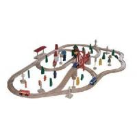 Wholesale Wooden Railway Set from china suppliers