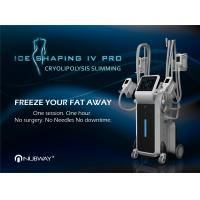 Quality 4 handles cryolipolysis Machine For Body Slimming And Face / 4 cryo handles work at the same time for sale