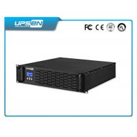 Wholesale Black Plastic Rack Mount 19 Inch ups with Zero Transfer Time 1kw-10kw from china suppliers