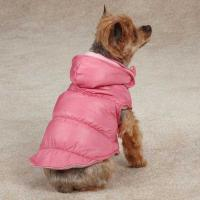 Wholesale Zack & Zoey Snow Lodge Dog Vest Pink / Custom Dog Hoodies for winter apparel from china suppliers
