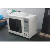 Buy cheap Custom Made White Horizontal Flammability Tester For Accordance Cable from wholesalers