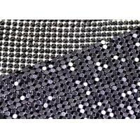 Wholesale Plain Weave Metallic Silk Fabric 3mm Shiny Cloth Fashion Accesory from china suppliers