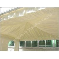 Wholesale Replacement Tent Parts Decorative Lining Satin Cloth / Trevira CS Material from china suppliers