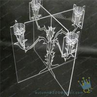 Wholesale CH (21) wholesale Acrylic candle holder from china suppliers