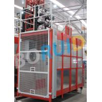 Wholesale Passenger and Goods Construction Material Hoist Double Cage SC200 / 200 from china suppliers