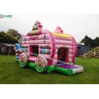 Wholesale Princess Carriage Inflatable Bouncy Castle With Slide For Kids Party from china suppliers
