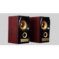 Quality 10 Watt 4 Ohm Wooden Computer Speakers USB Powered With Subwoofer for sale