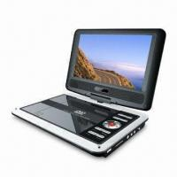 Wholesale 9-inch Portable DVD Player with 16:9 or 4:3 Aspect Ratio and Composite Video Output from china suppliers