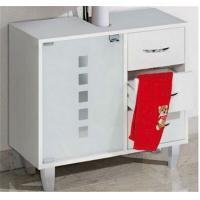 Wholesale Modern  Bathroom Sink Furniture Cabinets With Drawer And Glass Door from china suppliers