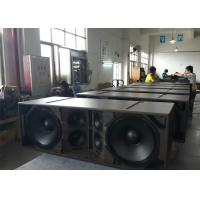 3 Way Double 15 Line Array Speaker / Live Sound Speakers for Large - scale Performance
