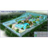 Wholesale Indoor Water Park Project For People Entertainment , Wave Pool Design from china suppliers