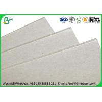 Wholesale 0.5mm - 4mm Grey Paper Board , Laminated Cardboard Sheets For Book Binding from china suppliers