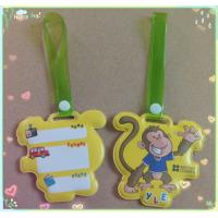 Wholesale Customized PVC luggage tag, advertising tag from china suppliers