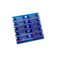 Wholesale 1 Layer Single Sided Circuit Board Gold finishing and Blue Solder Mask White screen from china suppliers