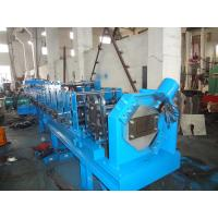 Buy cheap Blue Cable Tray Roll Forming Machine , 7.5Kw Hydraulic Station Roll Former Machine from wholesalers