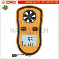 Wholesale Mini Digital Wind Speed Meter Pocket Anemometer Thermometer Digital Thermometer Speed Temperature Measuring Instruments from china suppliers