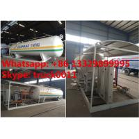 Wholesale 15tons skid lpg gas station with double weighting scales for sale, factory sale best price 15tons mobile skid lpg plant from china suppliers