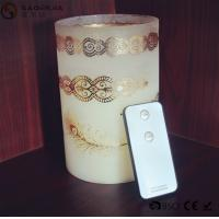 Wholesale Personalized Party / Event Paraffin Wax Candles In Prinnted Glass Jar from china suppliers