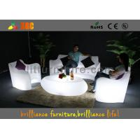 Wholesale Modern LED Sofas sets Recharge battery , Glowing sofa chair from china suppliers