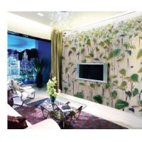 Wholesale Tempered Laminated Decorative Glass Panel With Leaf Design For Sliding Door from china suppliers